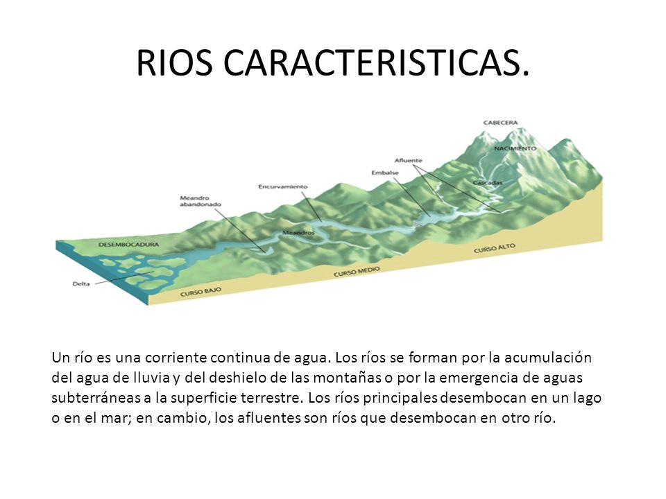 RIOS CARACTERISTICAS.