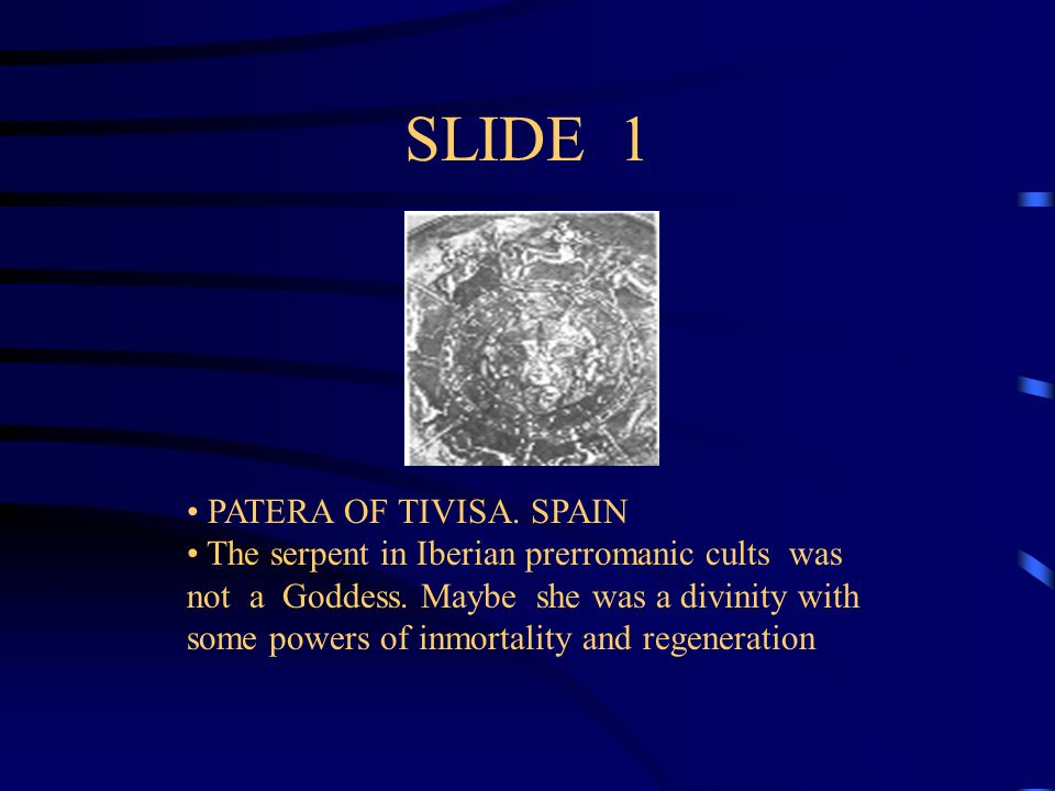 SLIDE 1 PATERA OF TIVISA. SPAIN