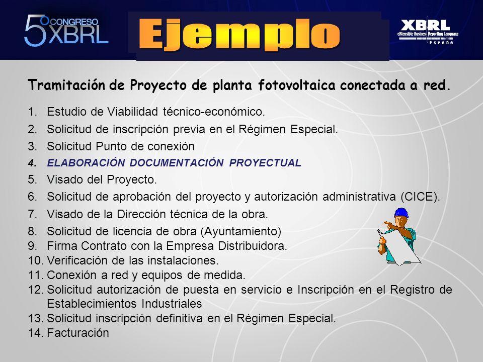 Tramitación de Proyecto de planta fotovoltaica conectada a red.