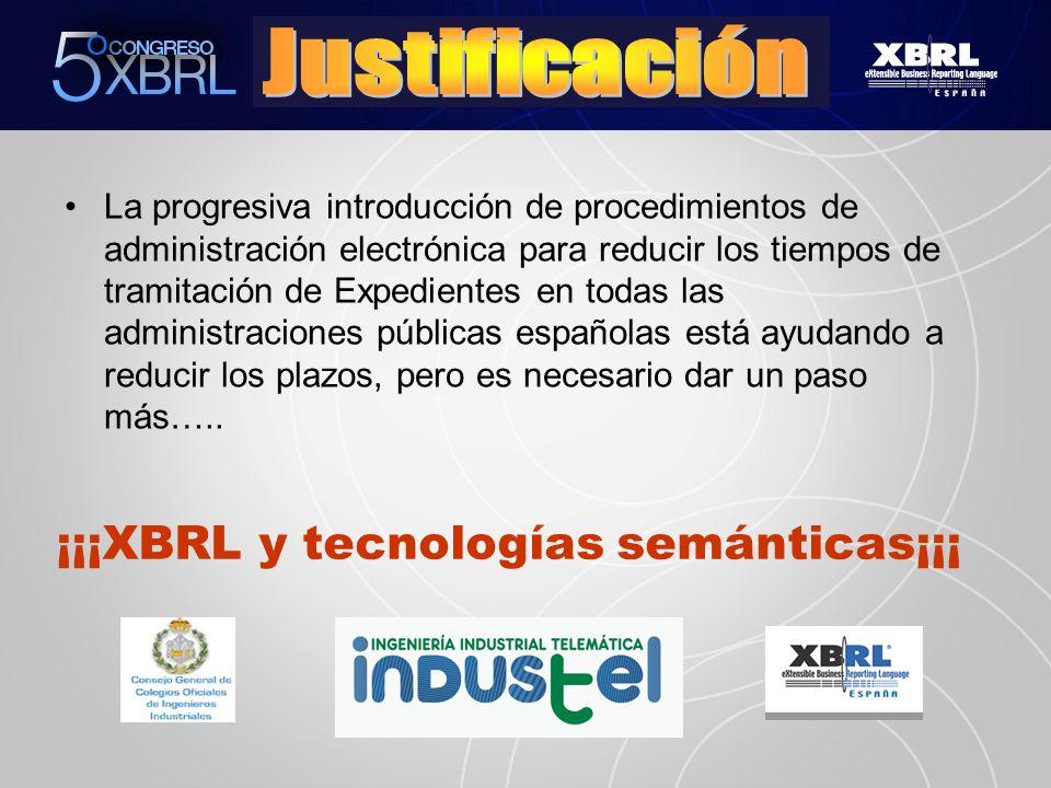 ¡¡¡XBRL y tecnologías semánticas¡¡¡