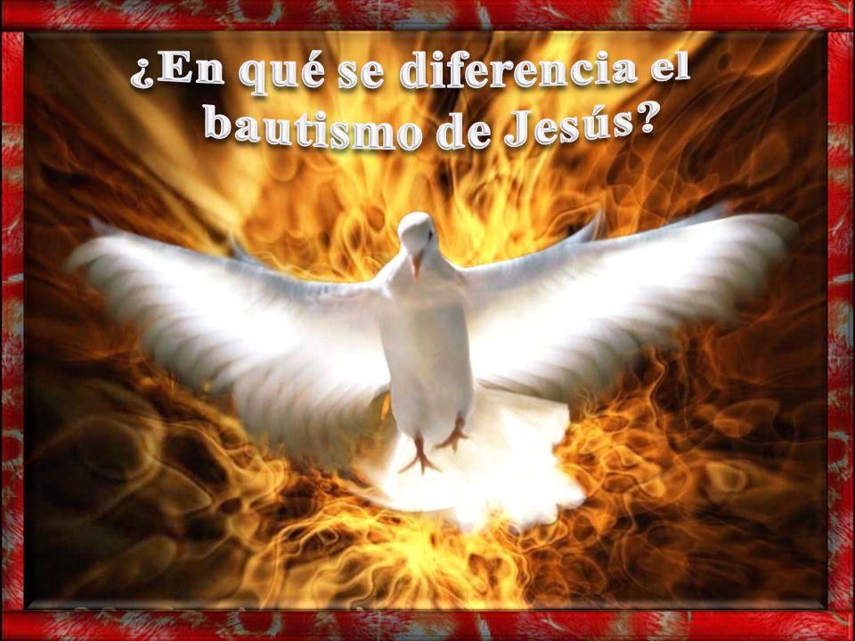 ¿En qué se diferencia el bautismo de Jesús
