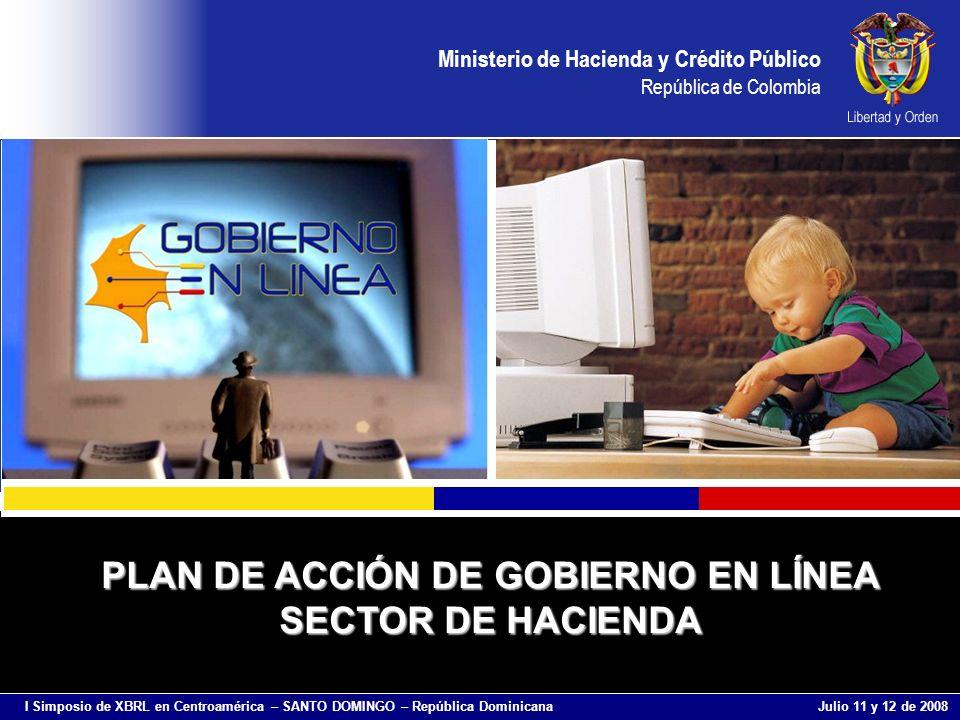 PLAN DE ACCIÓN DE GOBIERNO EN LÍNEA