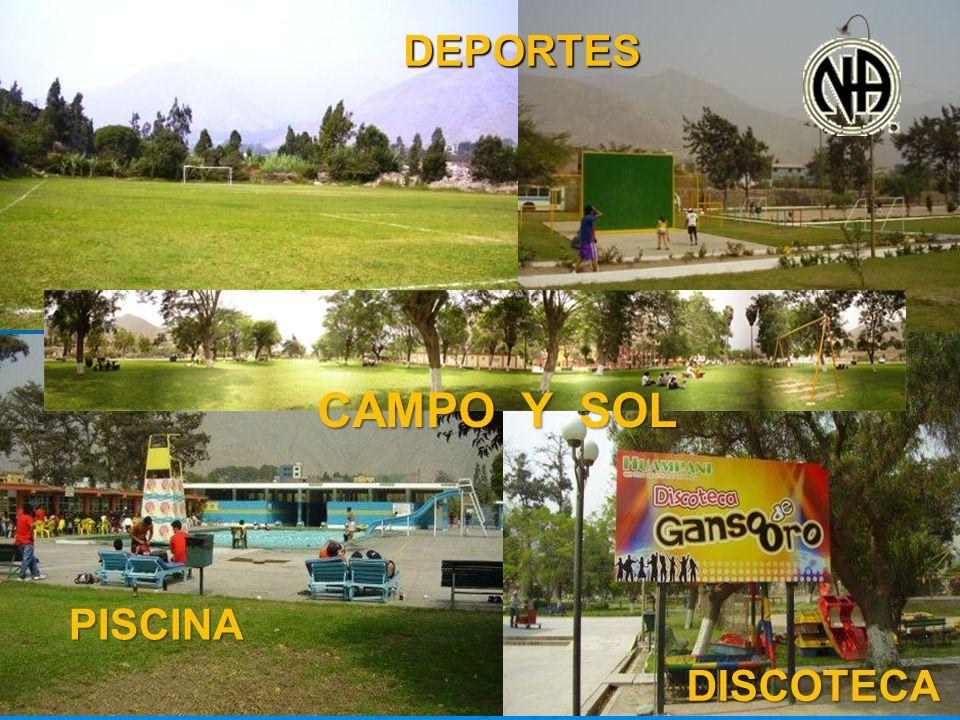 DEPORTES CAMPO Y SOL PISCINA DISCOTECA