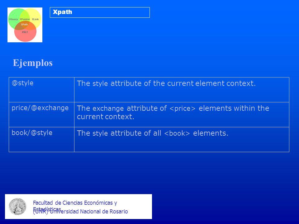 Ejemplos Facultad de Ciencias Económicas y Estadísticas