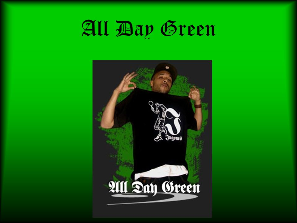 All Day Green