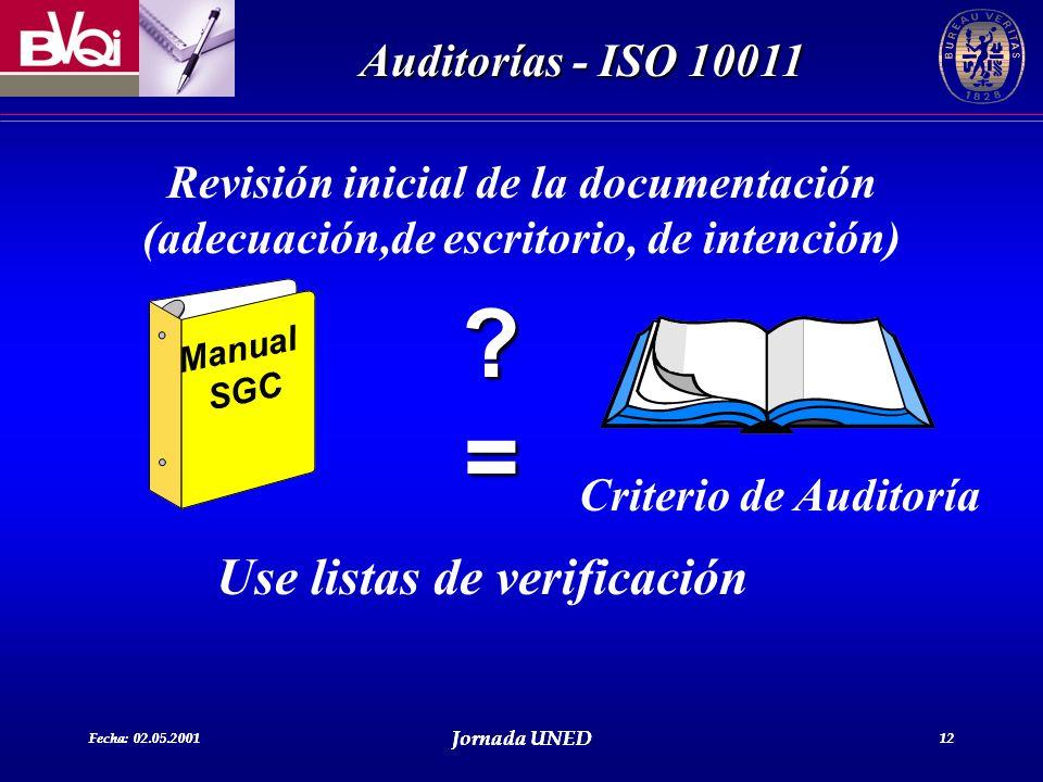 Use listas de verificación