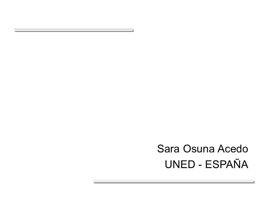 Sara Osuna Acedo UNED - ESPAÑA