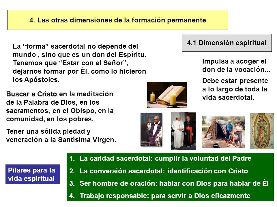 4. Las otras dimensiones de la formación permanente