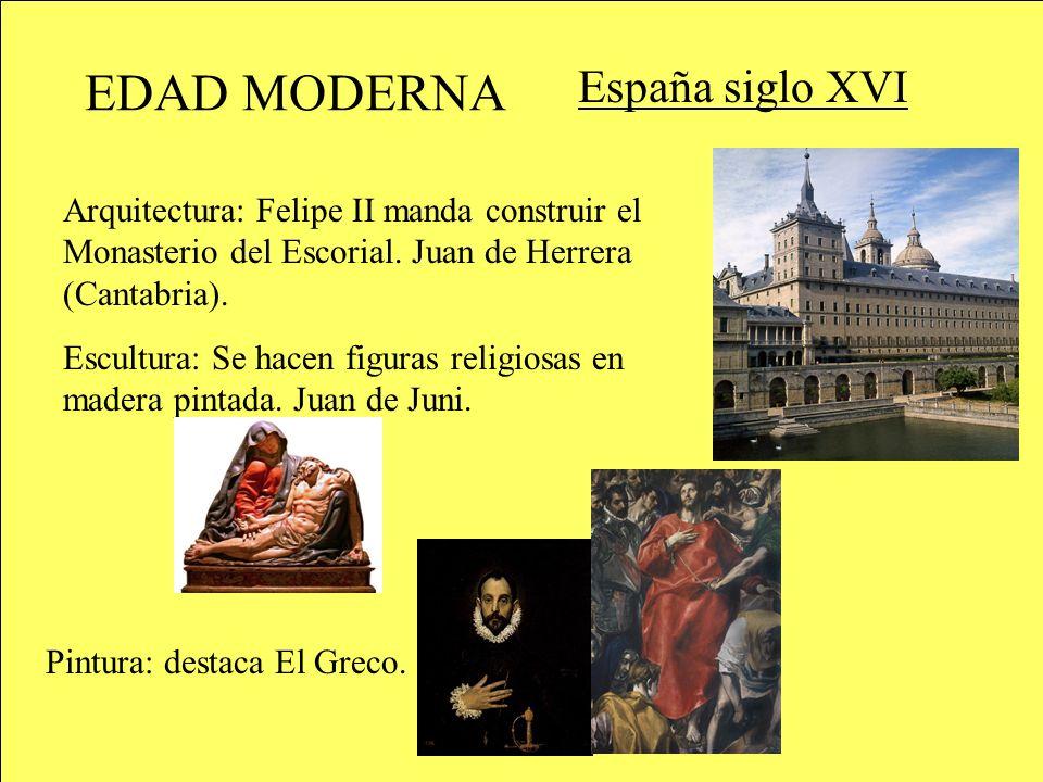 EDAD MODERNA España siglo XVI