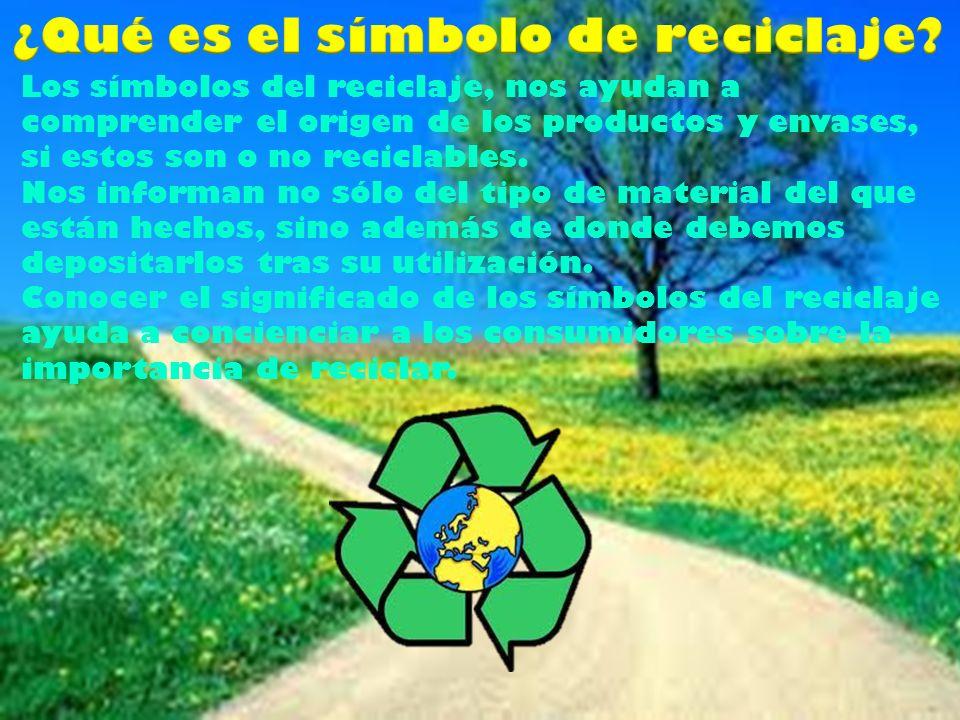 ¿Qué es el símbolo de reciclaje