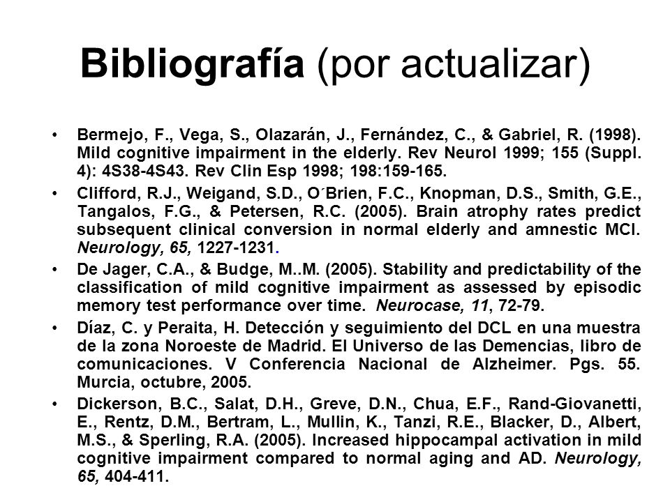 Bibliografía (por actualizar)