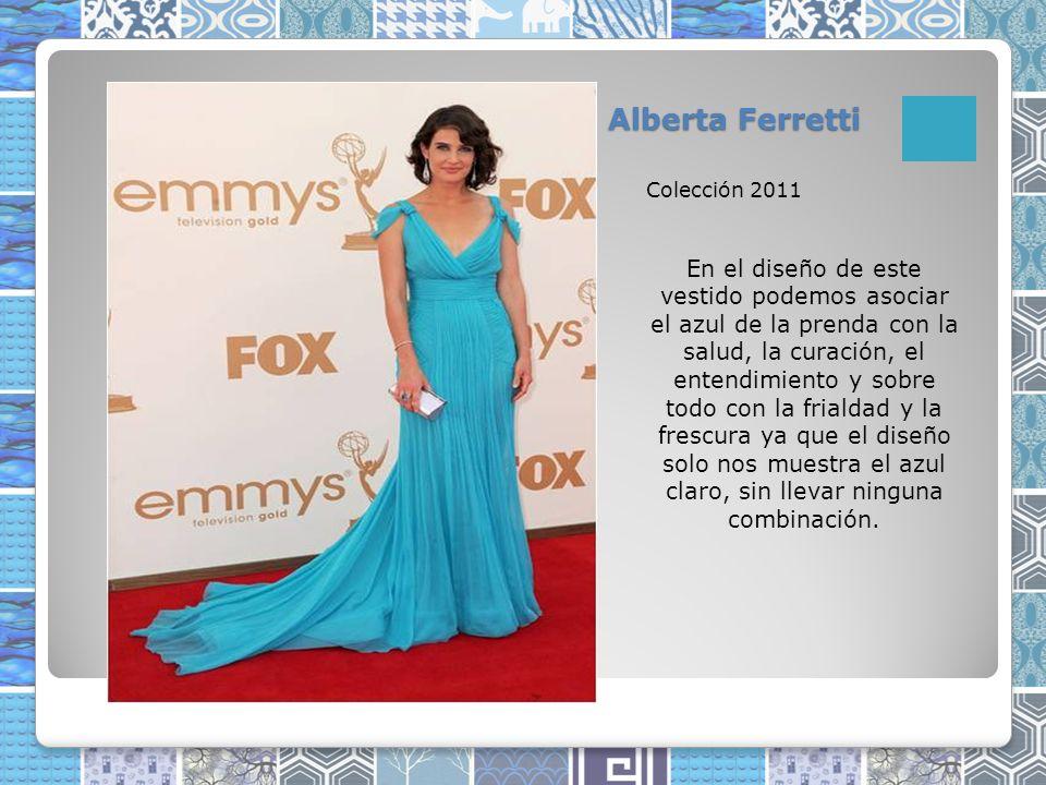Alberta Ferretti Colección 2011.