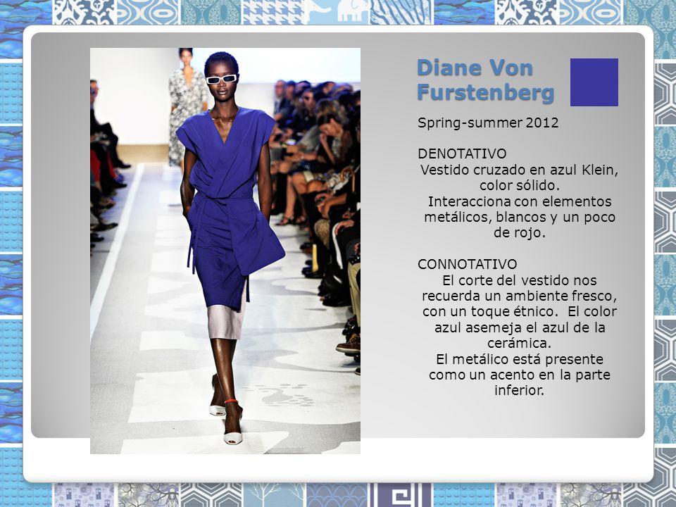 Diane Von Furstenberg Spring-summer 2012 DENOTATIVO