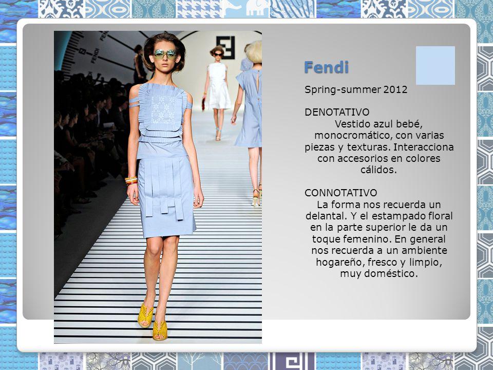 Fendi Spring-summer 2012 DENOTATIVO