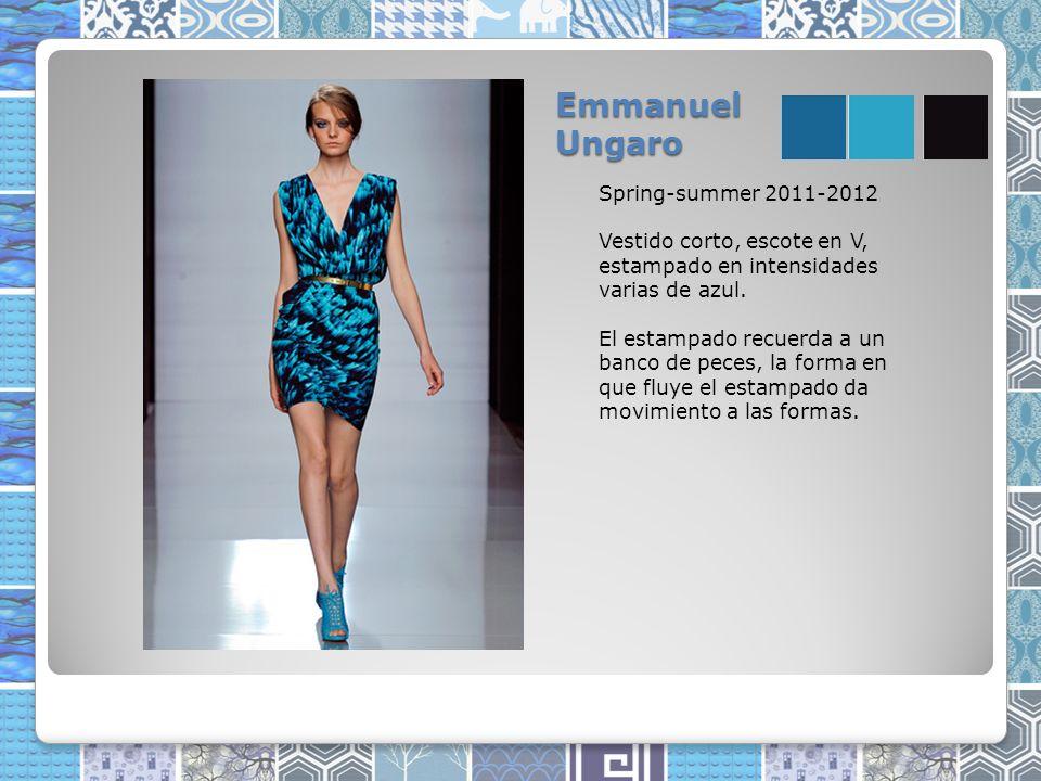 Emmanuel Ungaro Spring-summer 2011-2012