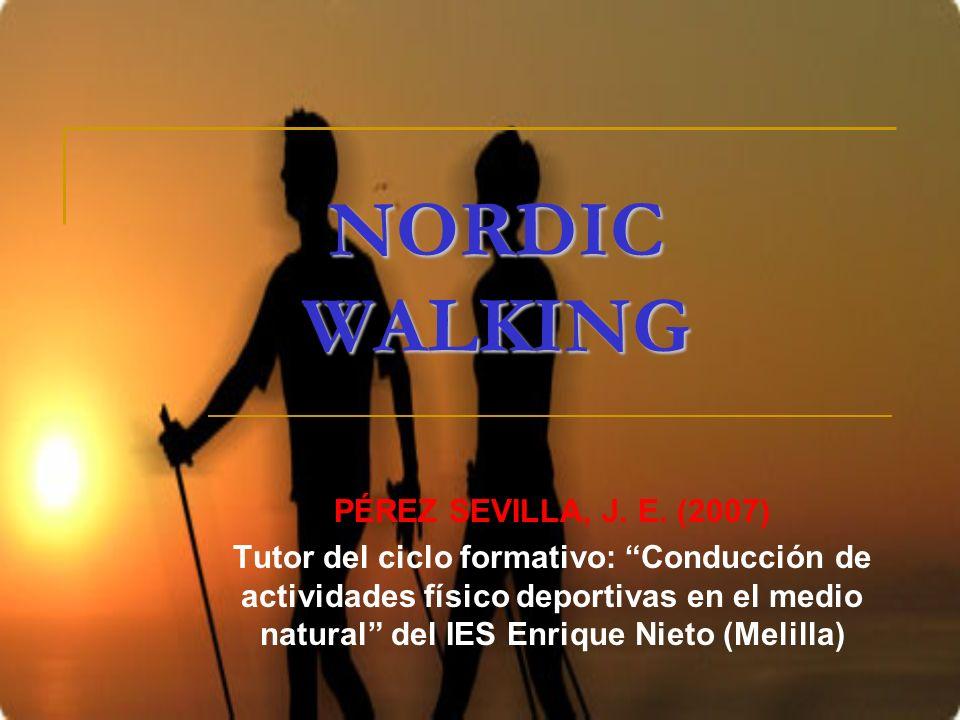 NORDIC WALKING PÉREZ SEVILLA, J. E. (2007)