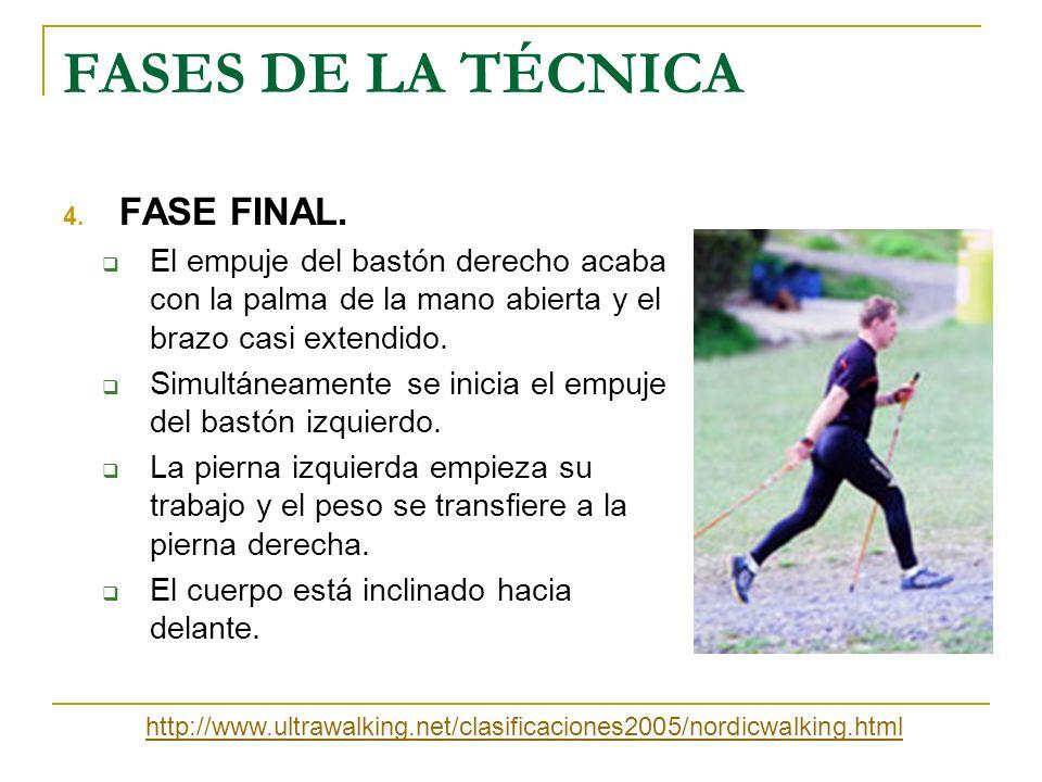 FASES DE LA TÉCNICA FASE FINAL.