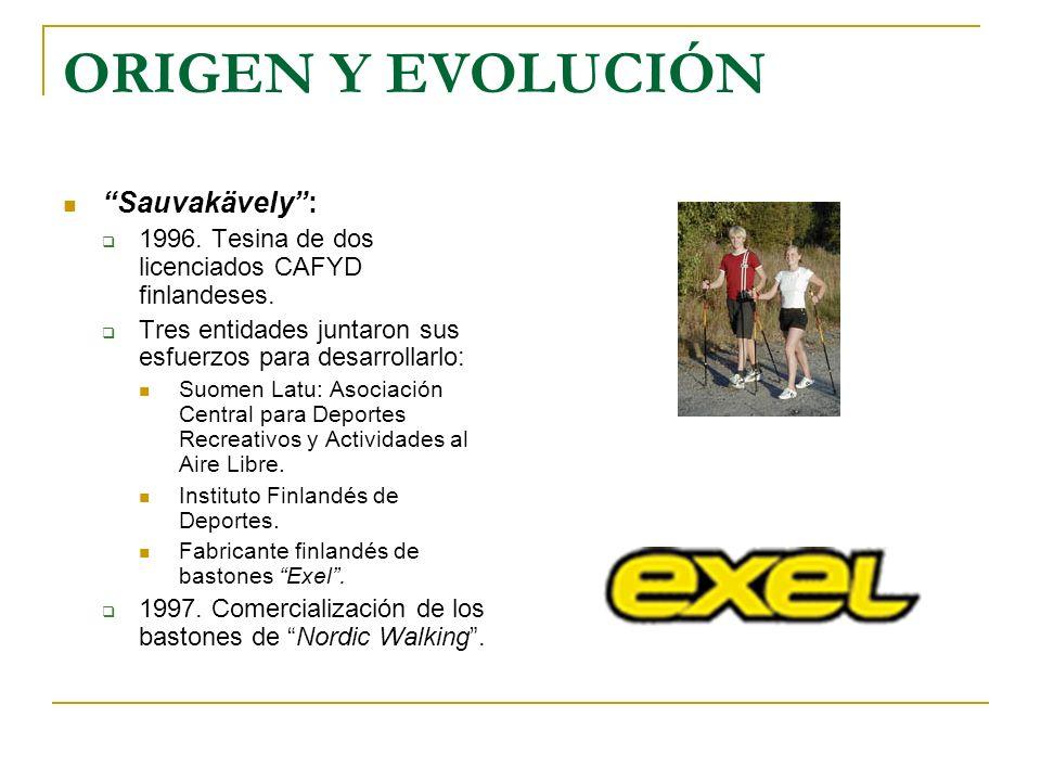 ORIGEN Y EVOLUCIÓN Sauvakävely :