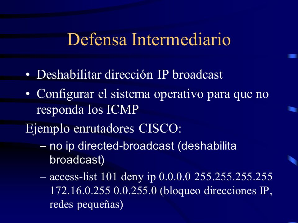 Defensa Intermediario