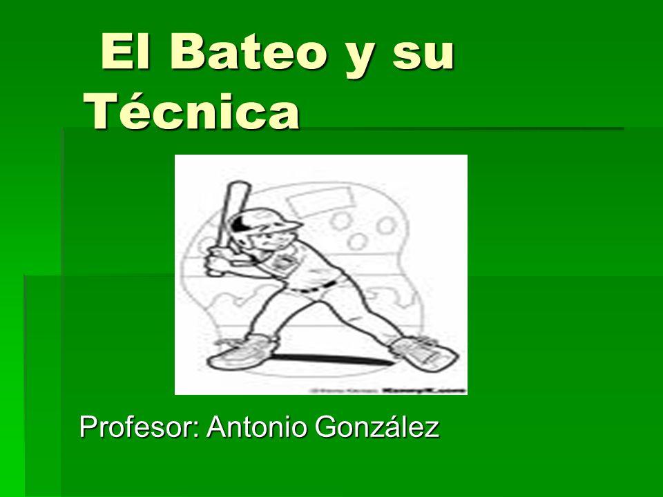 Profesor: Antonio González