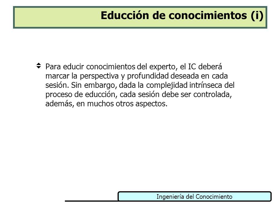 Educción de conocimientos (i)