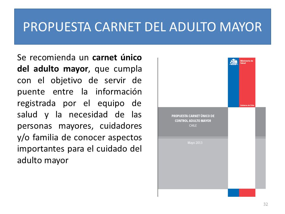 PROPUESTA CARNET DEL ADULTO MAYOR