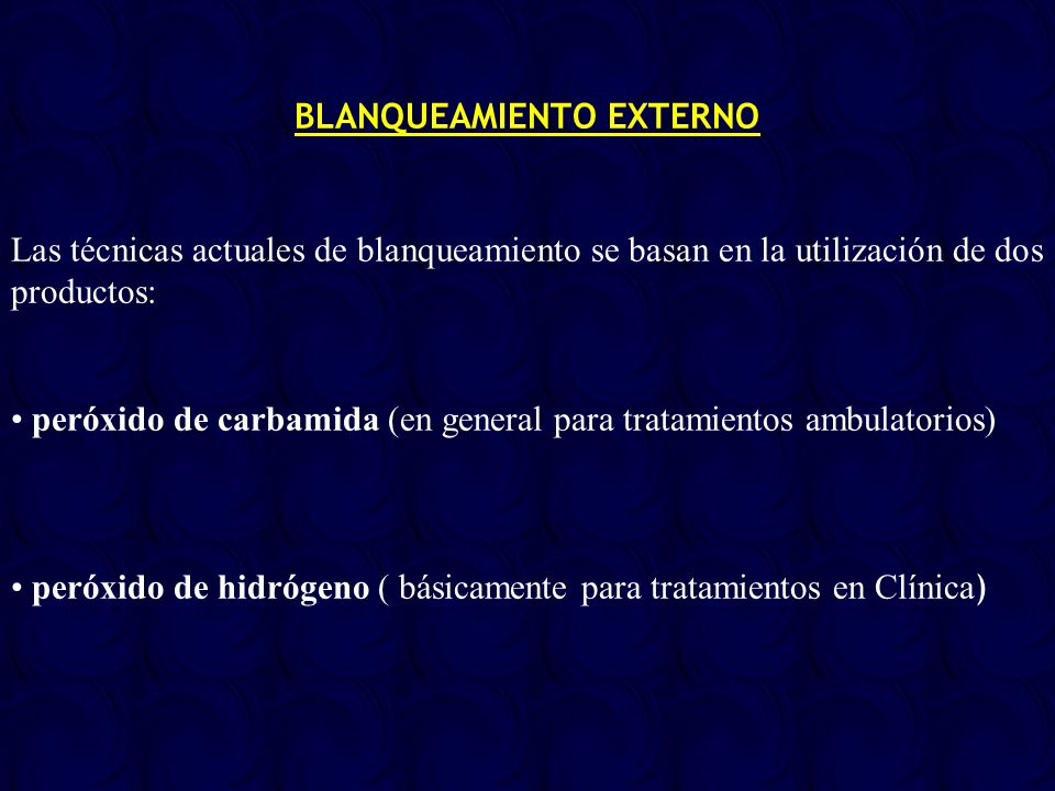 BLANQUEAMIENTO EXTERNO