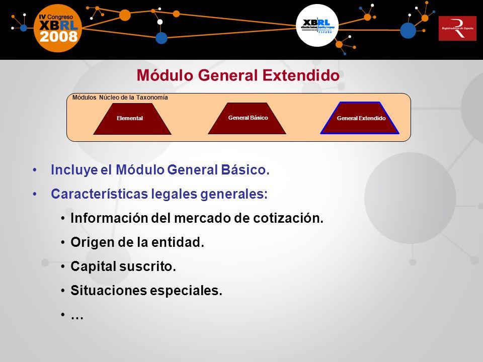 Módulo General Extendido