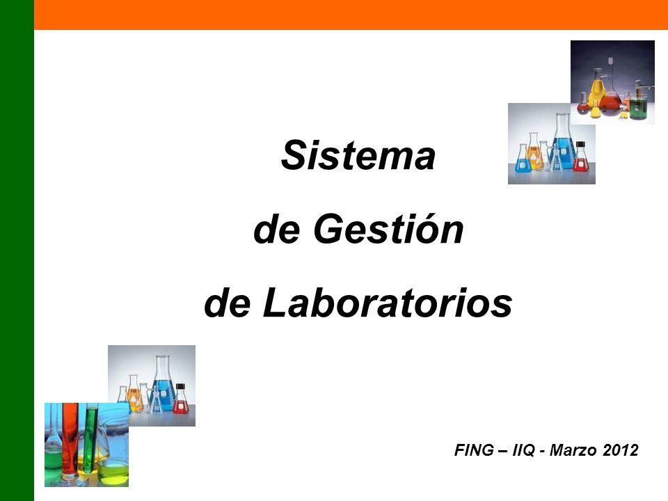 Sistema de Gestión de Laboratorios