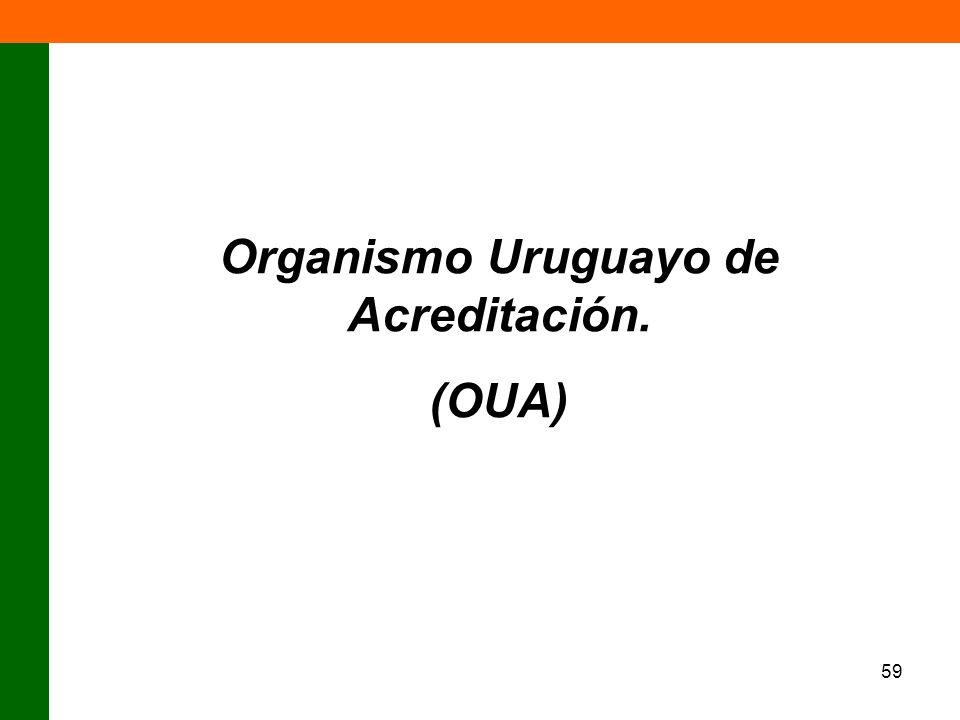 Organismo Uruguayo de Acreditación.