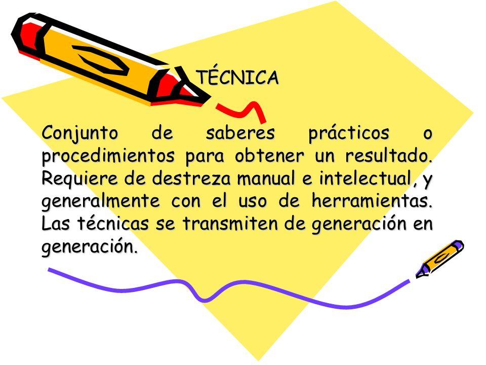 TÉCNICA
