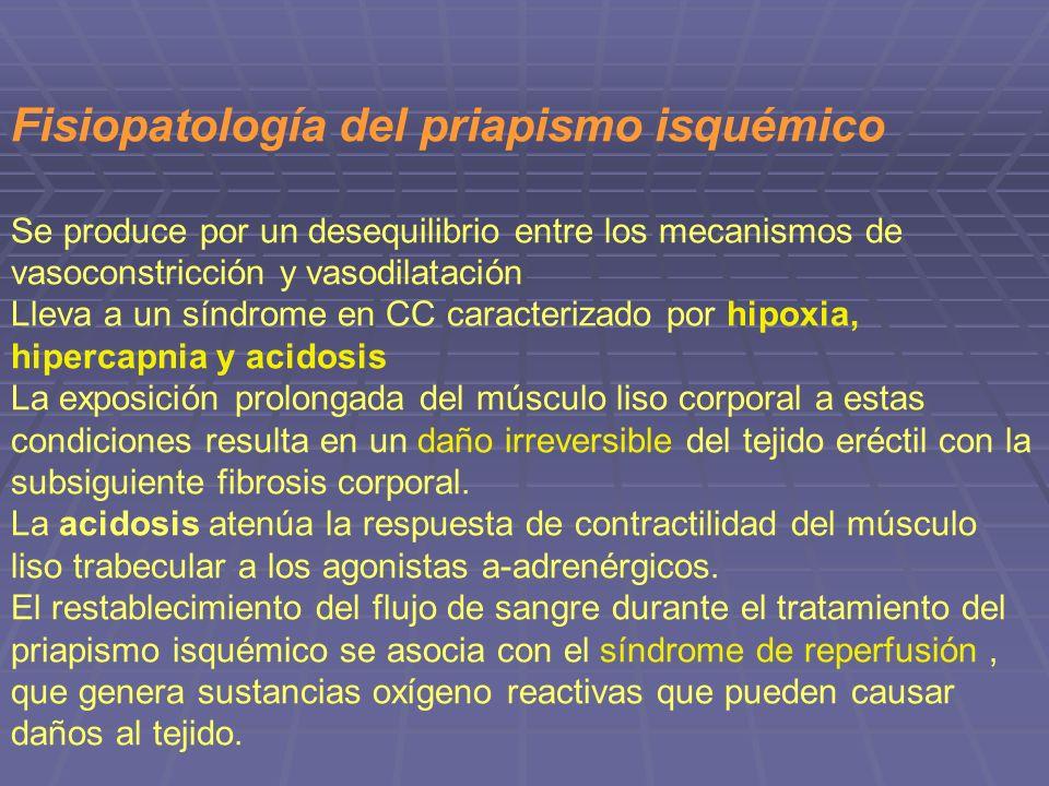Fisiopatología del priapismo isquémico