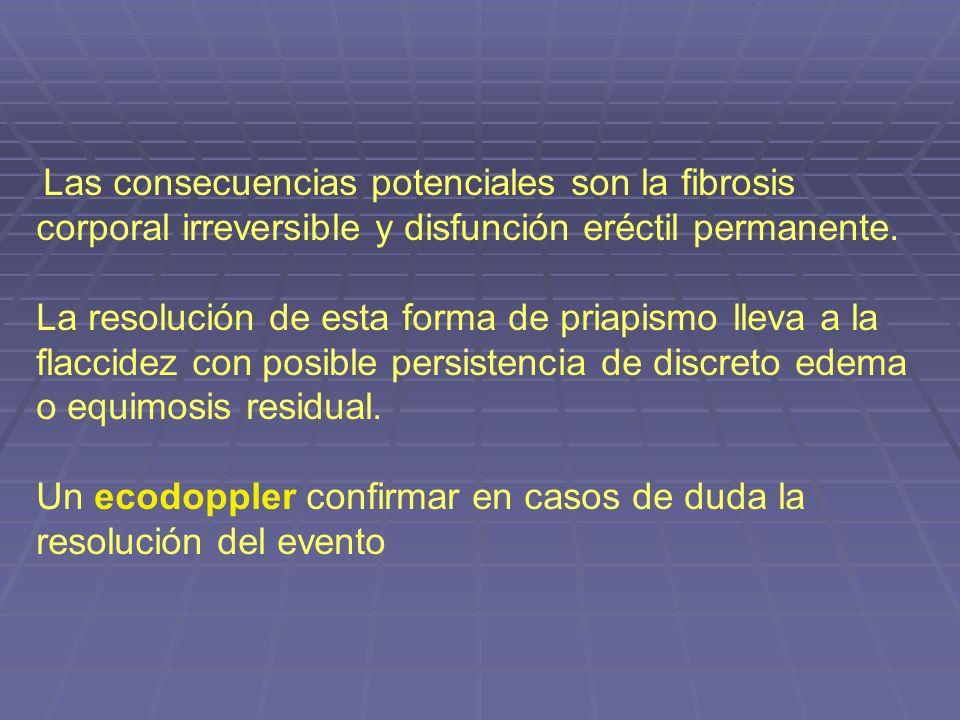 Un ecodoppler confirmar en casos de duda la resolución del evento