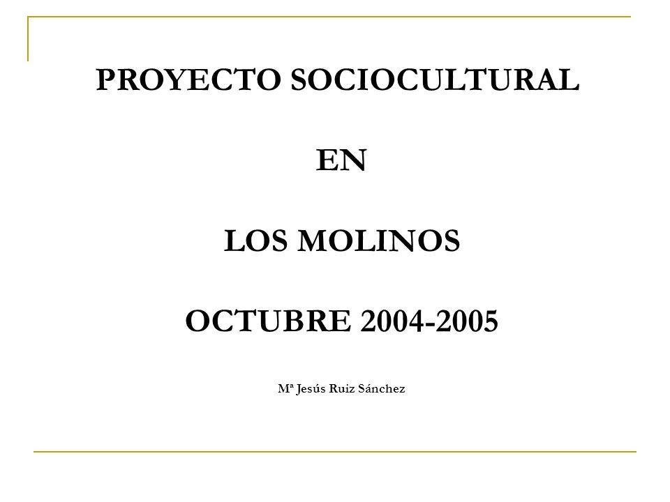 PROYECTO SOCIOCULTURAL