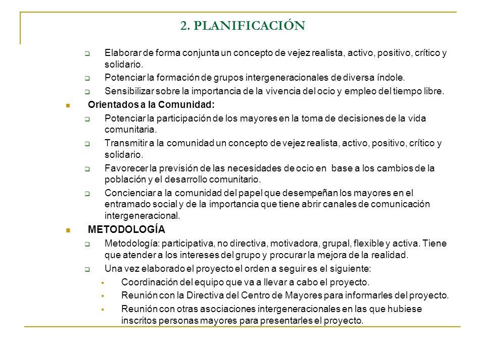 2. PLANIFICACIÓN METODOLOGÍA