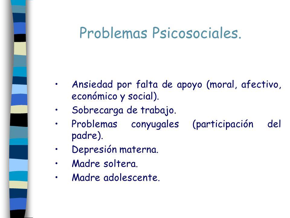 Problemas Psicosociales.