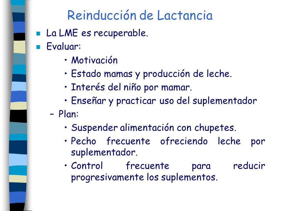 Reinducción de Lactancia