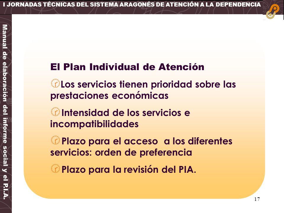 Manual de elaboración del informe social y el P.I.A.