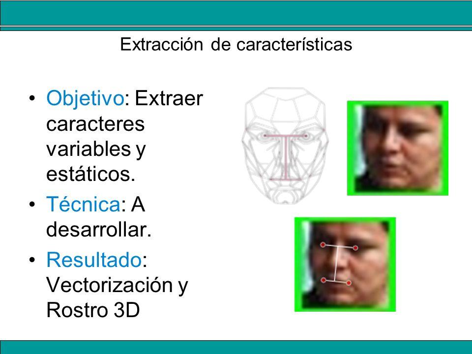 Extracción de características