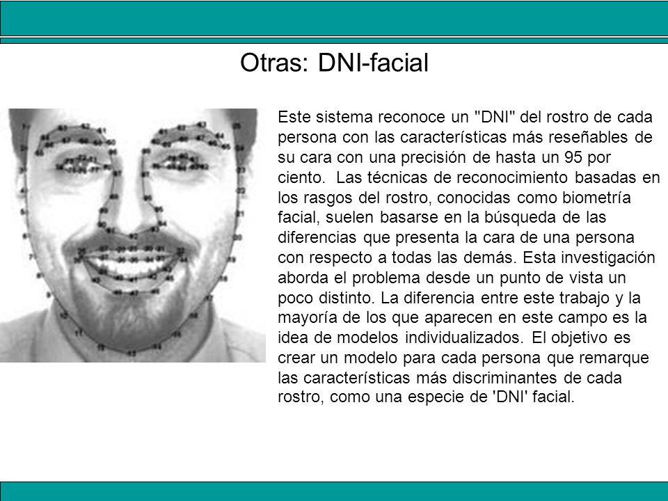 Otras: DNI-facial