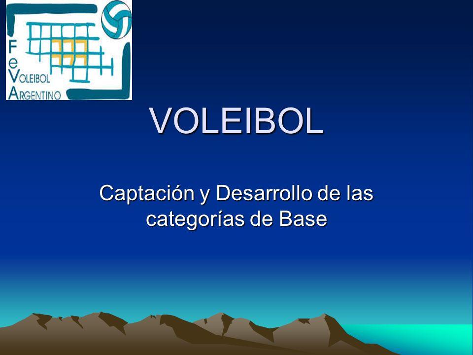 Captación y Desarrollo de las categorías de Base