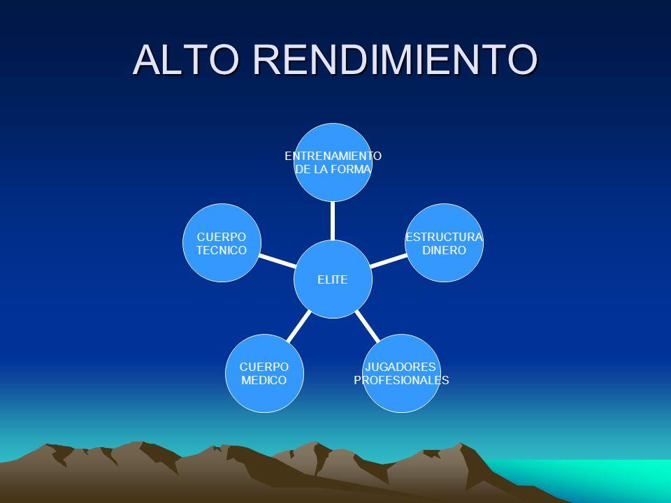 ALTO RENDIMIENTO
