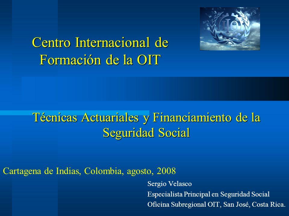 Técnicas Actuariales y Financiamiento de la Seguridad Social