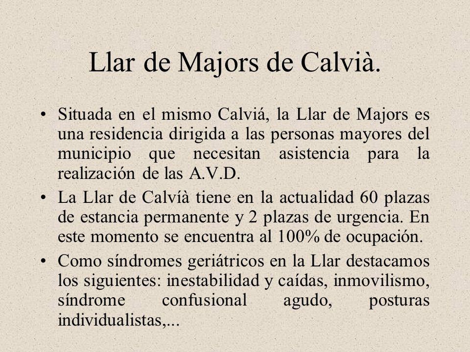 Llar de Majors de Calvià.