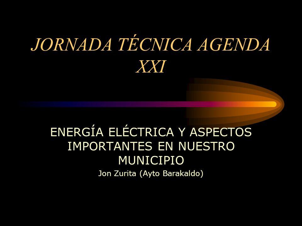 JORNADA TÉCNICA AGENDA XXI