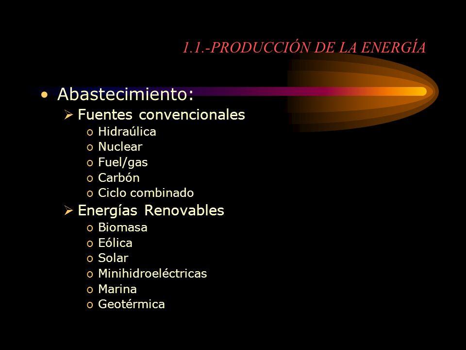 1.1.-PRODUCCIÓN DE LA ENERGÍA