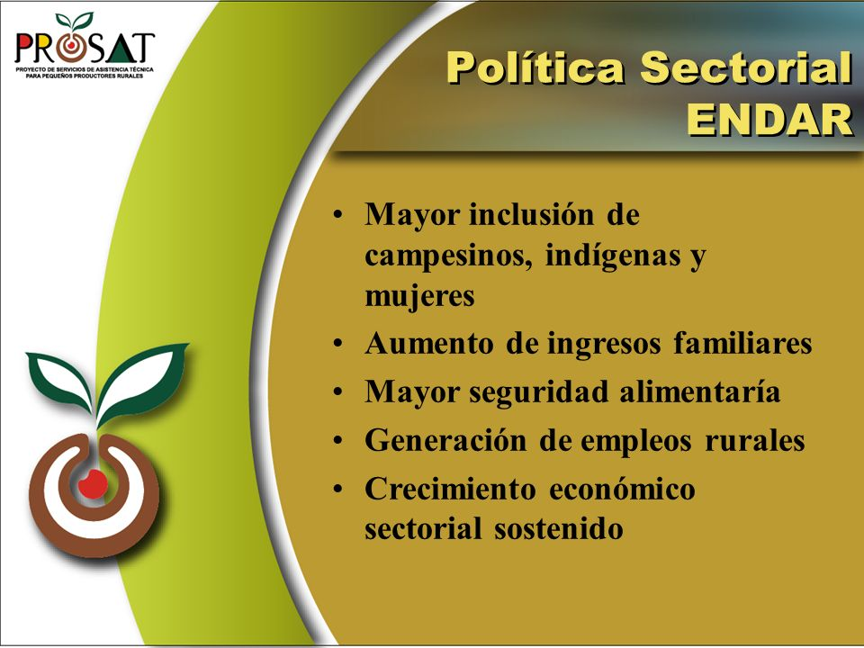 Política Sectorial ENDAR