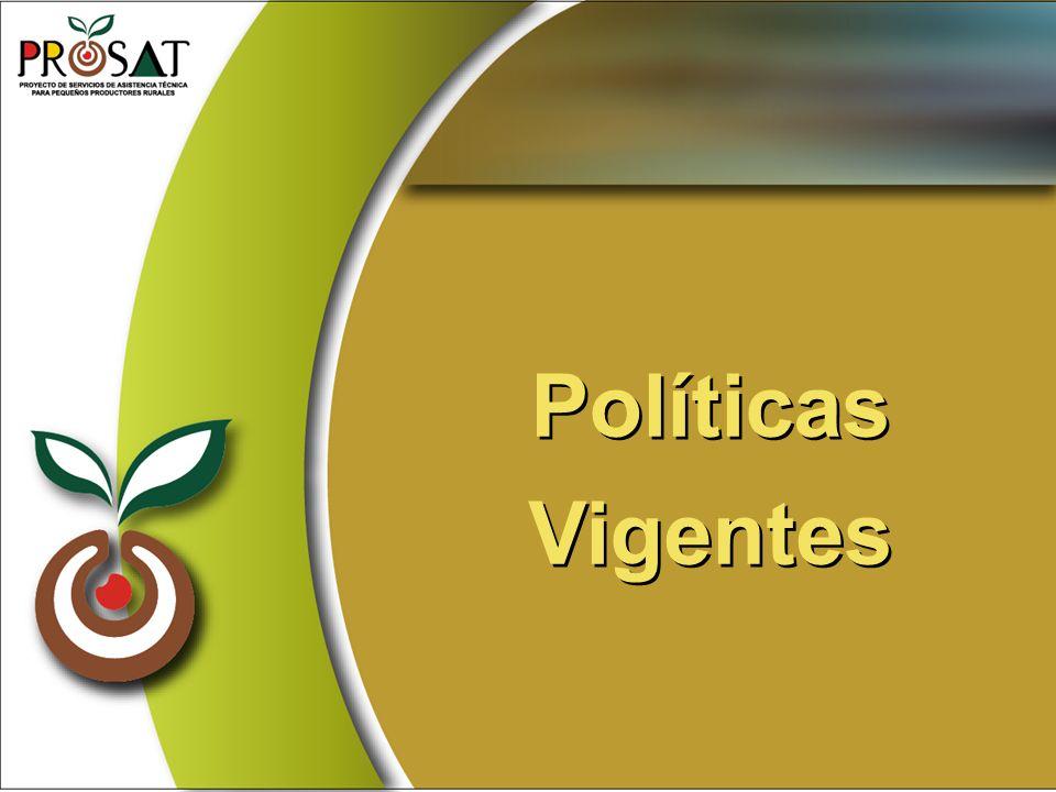 Políticas Vigentes