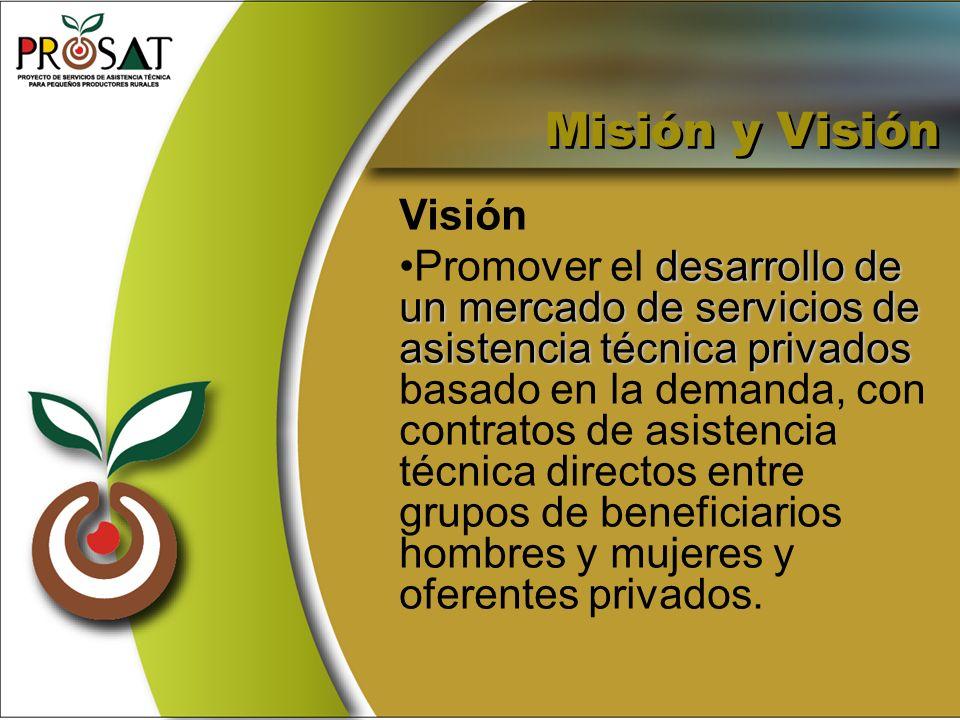 Misión y Visión Visión.