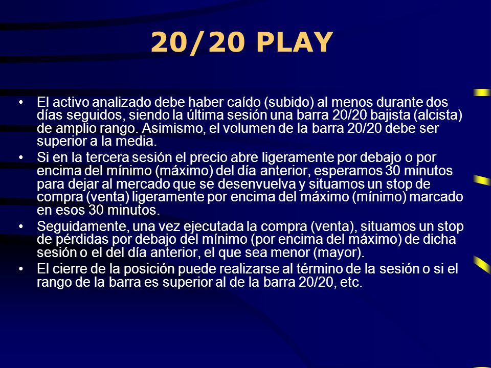 20/20 PLAY